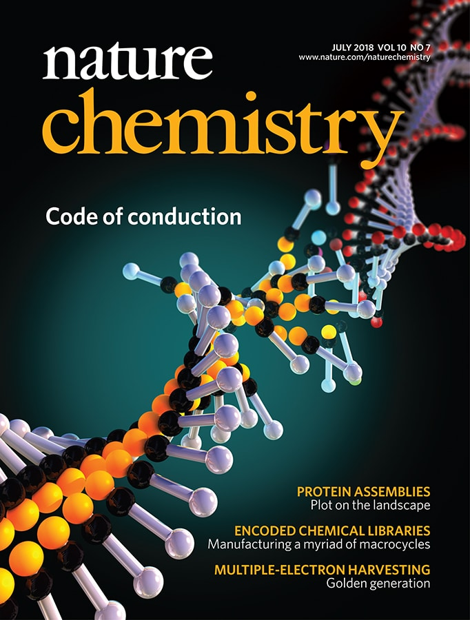 Nature Chemistry Cover Features Breakthrough ASRC Nanomaterials Research