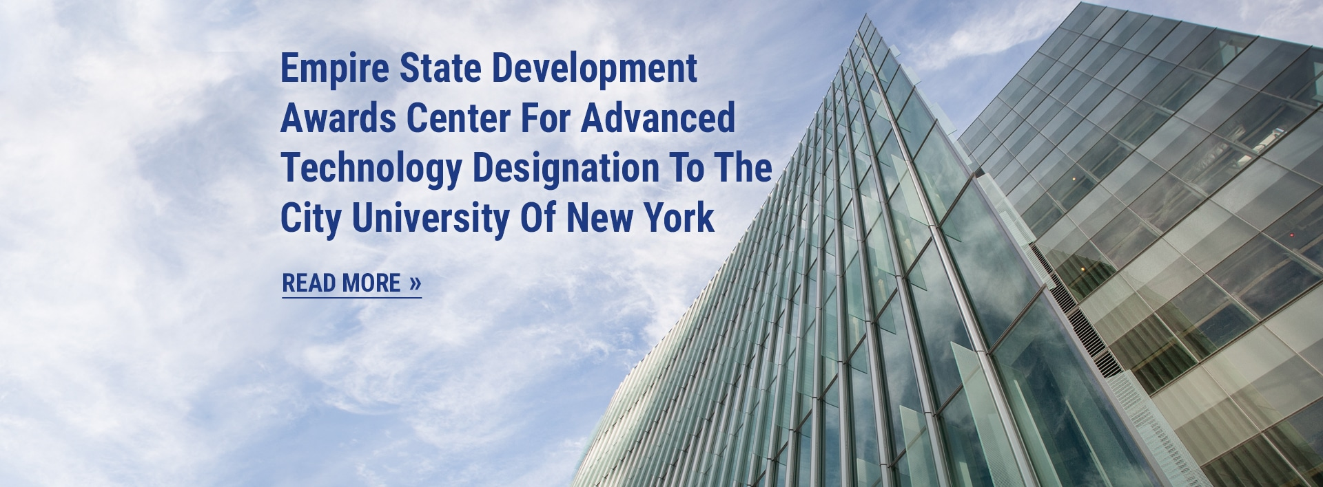 Empire State Development Awards Center For Advanced Technology Designation To The City University Of New York