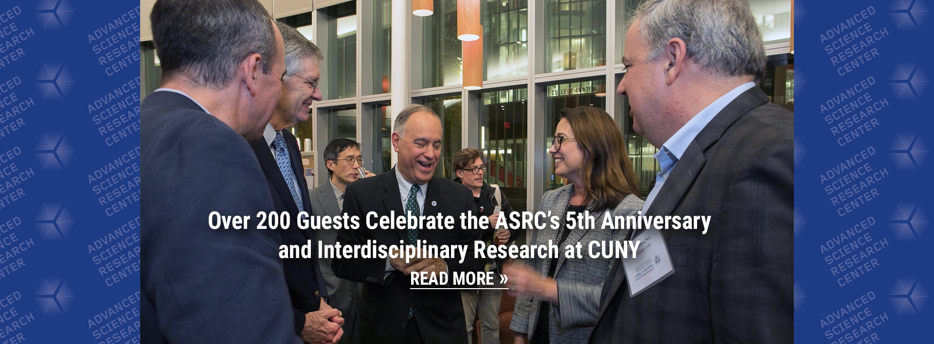 Over 200 Guests Celebrate the ASRC's 5th Anniversary and Interdisciplinary Research at CUNY