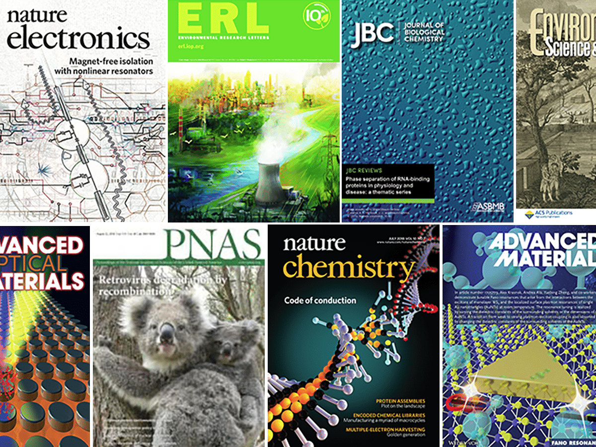 collage of journal covers