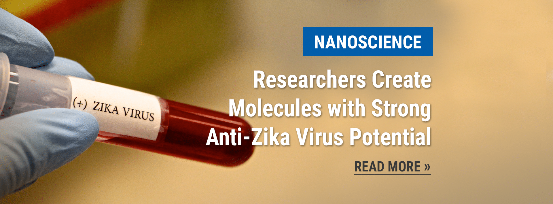 Nanoscience news: Researchers Create Molecules with Strong Anti-Zika Virus Potential
