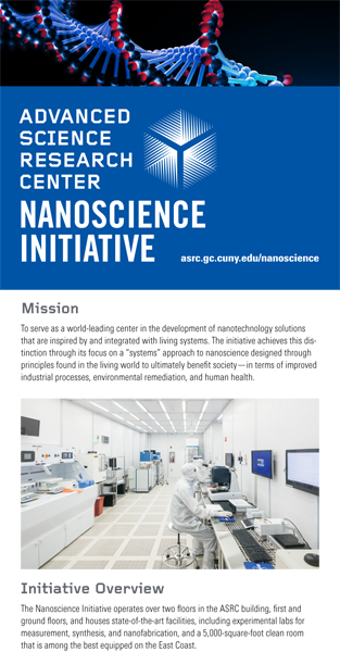 nanoscience initiative info flyer - thumbnail